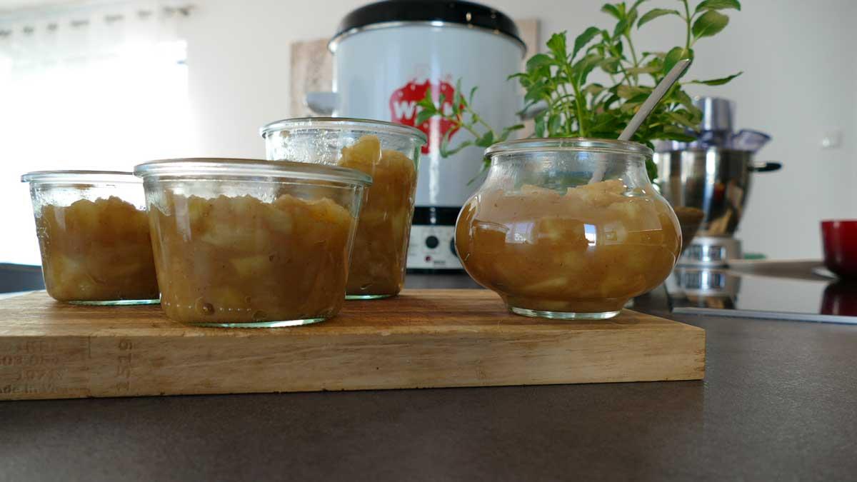 WECK WAT 15 Apfelmus einkochen